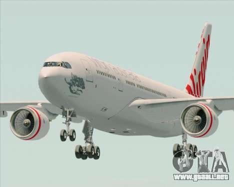 Airbus A330-200 Virgin Australia para GTA San Andreas