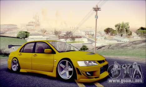 Mitsubishi Lancer Turkis Drift para GTA San Andreas