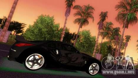 Nissan 350Z Veiside DK para GTA Vice City vista lateral izquierdo
