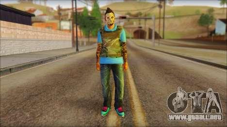Skin Sicario GTA V By Cesar Hardy para GTA San Andreas