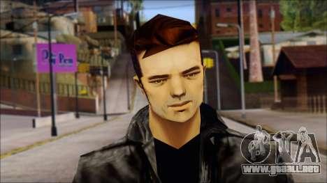 GTA 3 Claude Ped para GTA San Andreas tercera pantalla