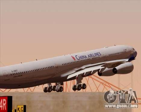 Airbus A340-313 China Airlines para el motor de GTA San Andreas
