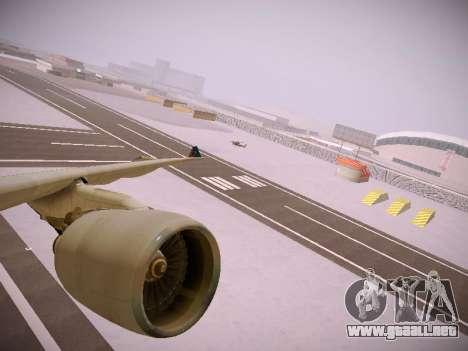 Airbus A330-300 Brussels Airlines para las ruedas de GTA San Andreas