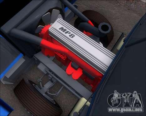 Mack Pinnacle 2006 para visión interna GTA San Andreas