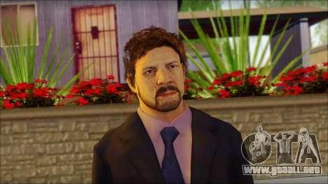 GTA 5 Ped 12 para GTA San Andreas tercera pantalla