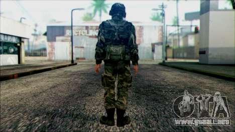 Los soldados de la guardia Nacional de los estad para GTA San Andreas segunda pantalla