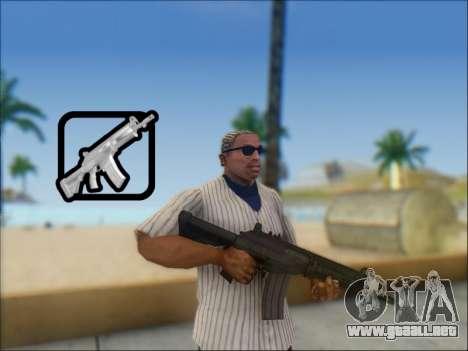 Israel carabina ACE 21 para GTA San Andreas