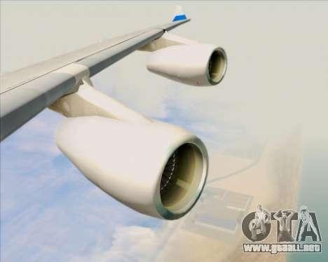 Airbus A340-313 China Airlines para las ruedas de GTA San Andreas