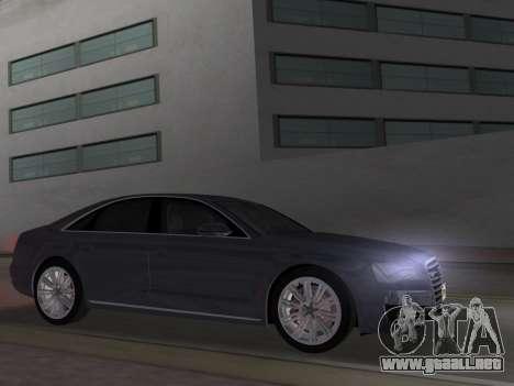 Audi A8 2010 W12 Rim1 para GTA Vice City left