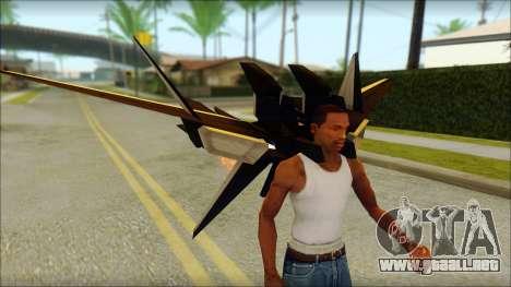 Machine Wing Jetpack para GTA San Andreas sucesivamente de pantalla