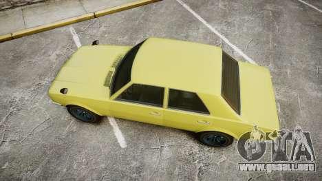 Vulcar Warrener para GTA 4 visión correcta