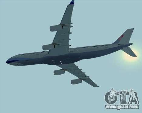 Airbus A340-313 China Airlines para GTA San Andreas