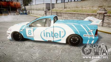 Ford Falcon XR8 Racing para GTA 4 left