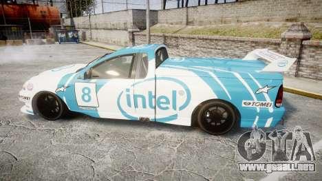 Ford Falcon XR8 Racing para GTA 4 left