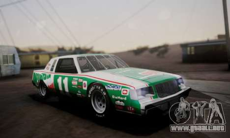 Buick Regal 1983 para vista inferior GTA San Andreas