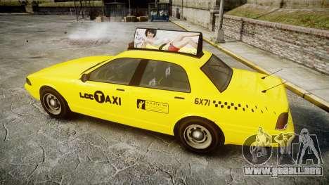 GTA V Vapid Taxi LCC para GTA 4 left