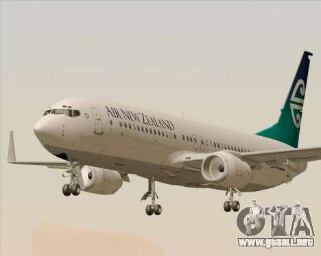 Boeing 737-800 Air New Zealand para GTA San Andreas