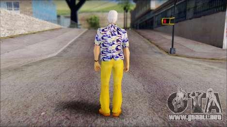 Doc from Back to the Future 1985 para GTA San Andreas segunda pantalla
