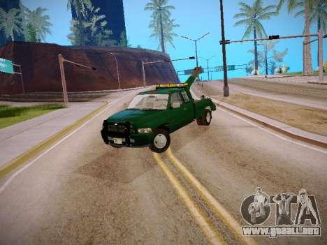 Dodge Ram Tow-Truck para GTA San Andreas left