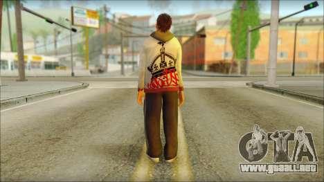 GTA 5 Ped 6 para GTA San Andreas segunda pantalla