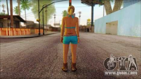Tracey De Santa para GTA San Andreas segunda pantalla