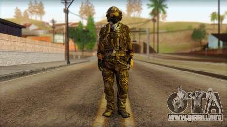 Combatiente de la OGA (MoHW) v1 para GTA San Andreas