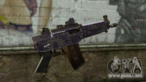 Graffiti MP5 para GTA San Andreas segunda pantalla