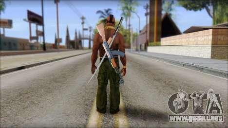 MR T Skin v9 para GTA San Andreas segunda pantalla