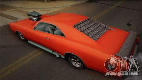 GTA 4 Dukes Tunable para GTA San Andreas vista hacia atrás