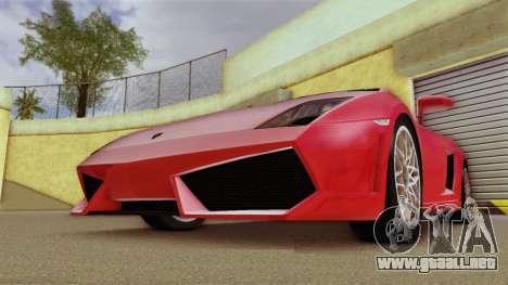 Lamborghini Gallardo LP 560-4 para GTA Vice City left