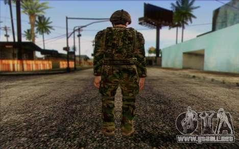Soldados británicos (ArmA II: BAF) v1 para GTA San Andreas segunda pantalla