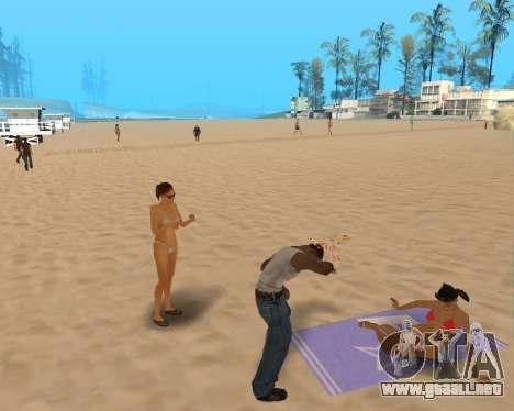En el aire! para GTA San Andreas tercera pantalla