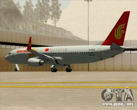 Boeing 737-89L Air China para el motor de GTA San Andreas