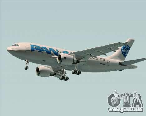 Airbus A310-324 Pan American World Airways para el motor de GTA San Andreas