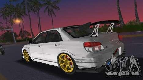 Subaru Impreza WRX STI 2006 Type 2 para GTA Vice City vista interior