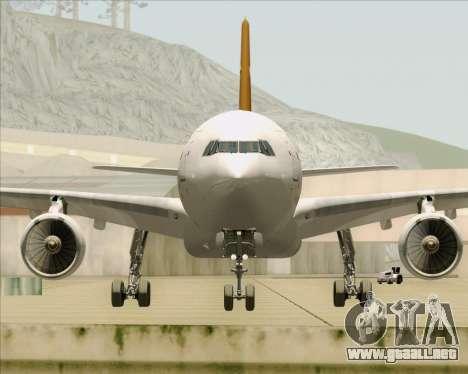 Airbus A330-300P2F UPS Airlines para la vista superior GTA San Andreas
