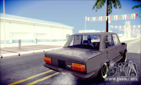 Fiat 125P Shark para visión interna GTA San Andreas