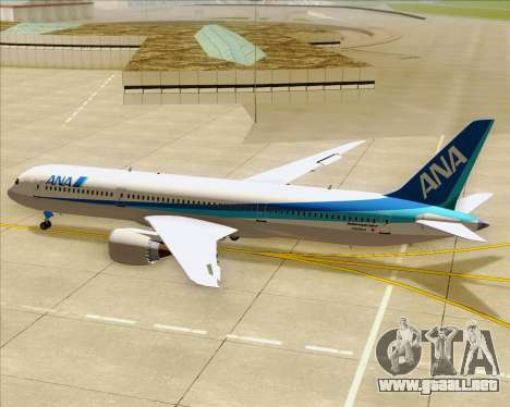 Boeing 787-9 All Nippon Airways para el motor de GTA San Andreas