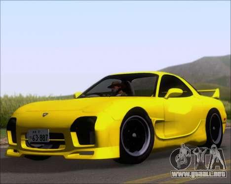 Mazda RX-7 FD3S A-Spec para GTA San Andreas left