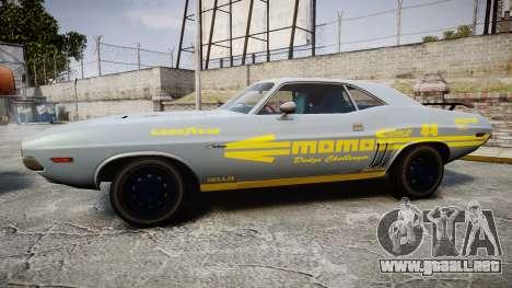 Dodge Challenger 1971 v2.2 PJ4 para GTA 4 left