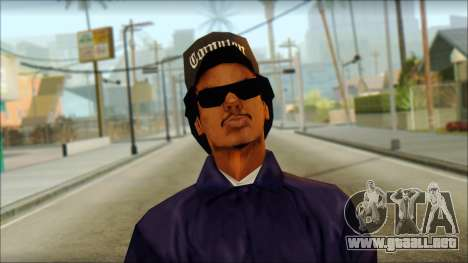 Eazy-E Blue v2 para GTA San Andreas tercera pantalla
