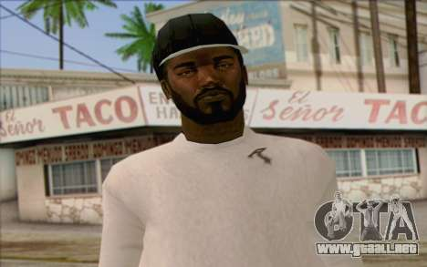 N.W.A Skin 1 para GTA San Andreas tercera pantalla