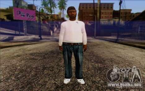 N.W.A Skin 1 para GTA San Andreas