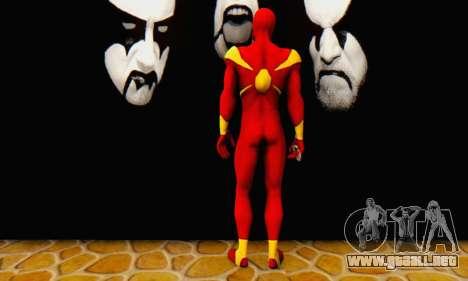 Skin The Amazing Spider Man 2 - DLC Iron Spider para GTA San Andreas tercera pantalla