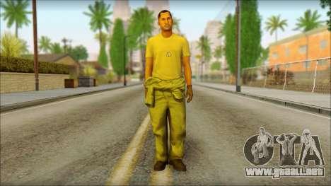 GTA 5 Soldier v2 para GTA San Andreas