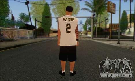 Vagos from GTA 5 Skin 1 para GTA San Andreas segunda pantalla