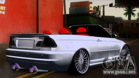 BMW M3 E46 Cabrio para GTA San Andreas left