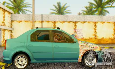 Dacia Logan 1.6 MPI Tuning para GTA San Andreas left
