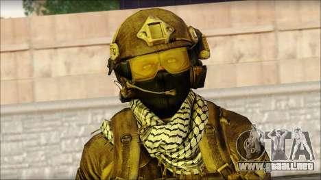 Combatiente de la OGA (MoHW) v1 para GTA San Andreas tercera pantalla