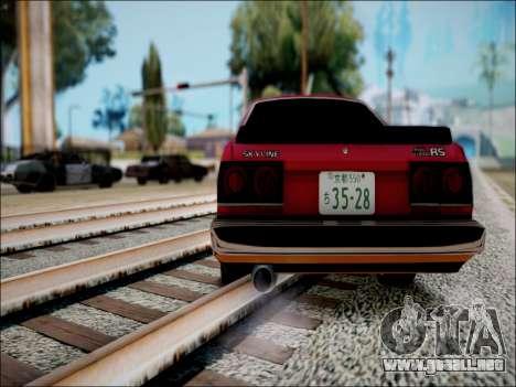 Nissan Skyline GT-R R30 para la visión correcta GTA San Andreas
